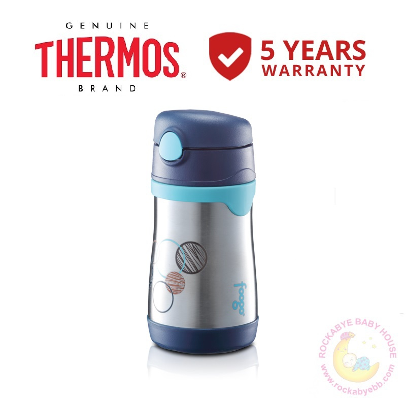 AUTHENTIC READY STOCK Thermos 0.29L Foogo Vacuum Insulated Straw Bottle  (BS535