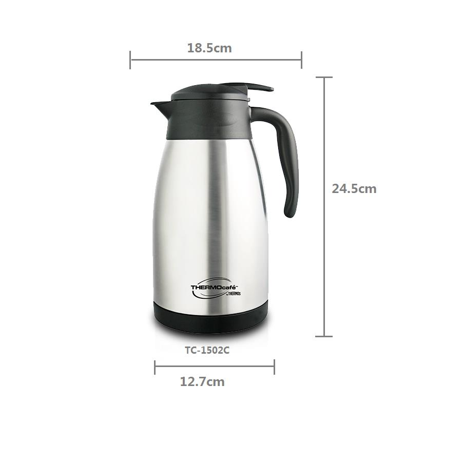 AUTHENTIC READY STOCK Thermos 1.5L Thermocafe Basic Living Carafe (TC-