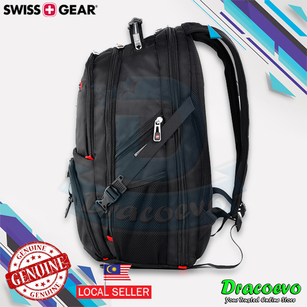 Authentic Swiss Gear 17.3 Inch Laptop Backpack Notebook Bag Business S