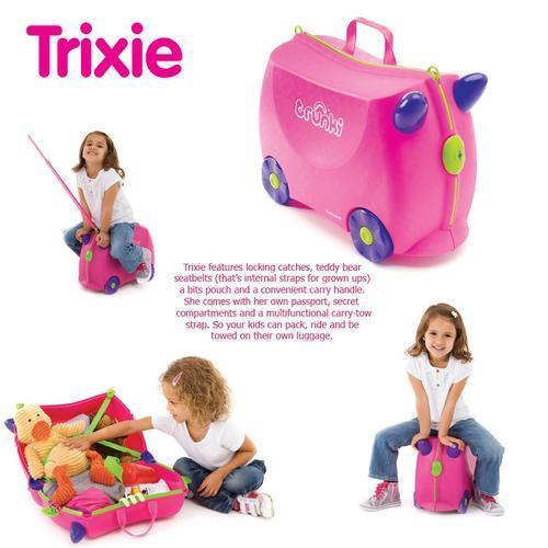 New Authentic Trunki TRIXIE Pink Tra (end 2/23/2016 3:39 PM)