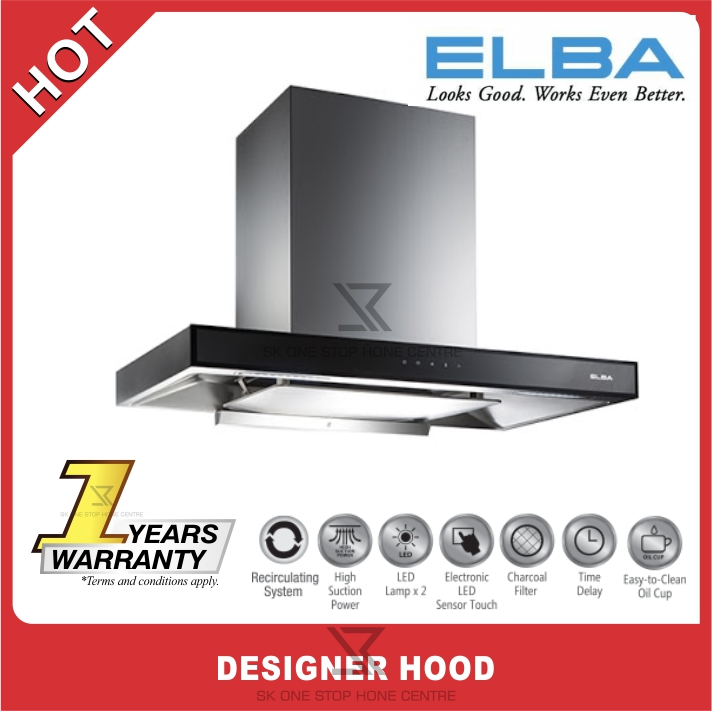 (AUTHORISED DEALER) ELBA ELEGANTE DESIGNER HOOD EH-G9026ST