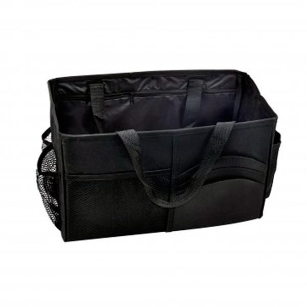 Auto Console Organizer Bag Portable Pocket Storage Bag Keep Car CD