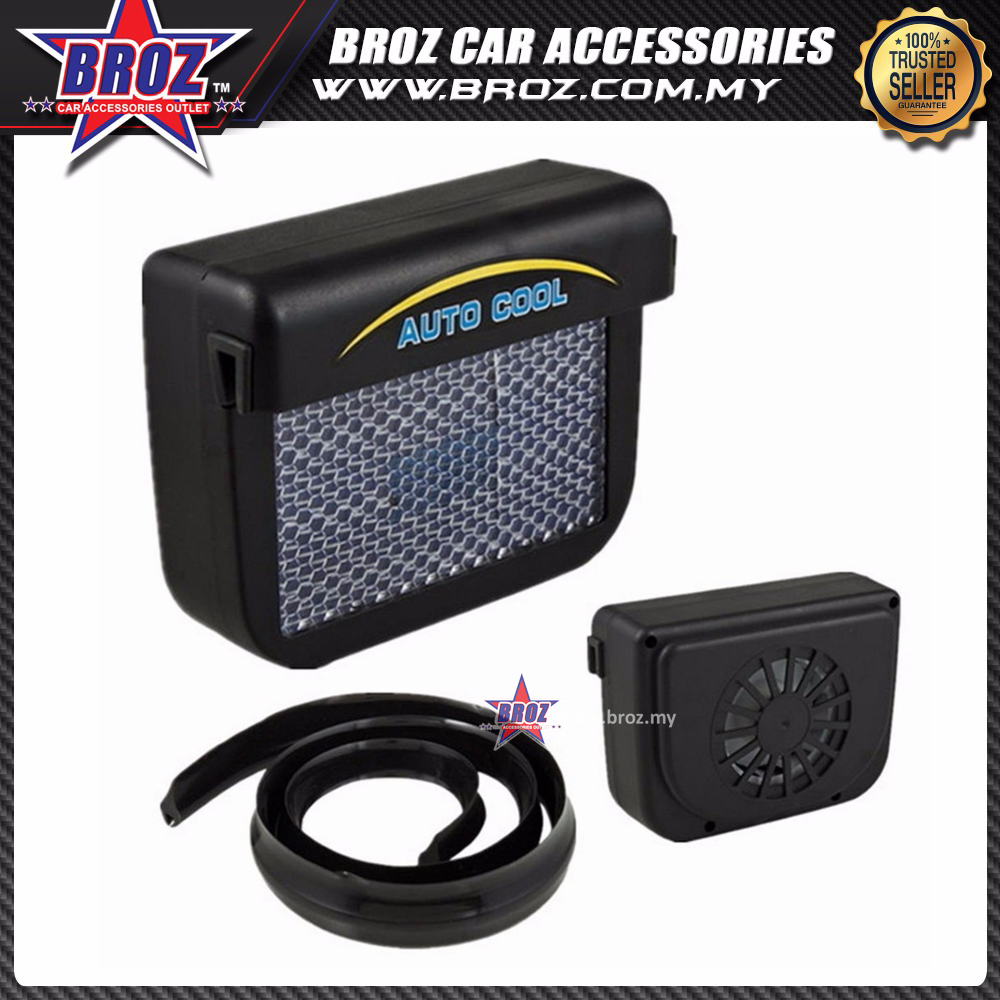 auto cool solar sun power air ventil (end 7/17/2020 6:35 pm)