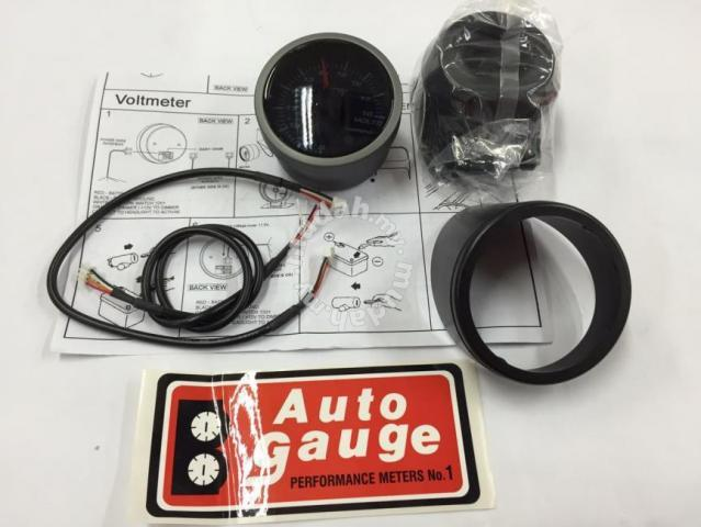 Auto Gauge 60mm Angel Ring Volt Meter Taiwan