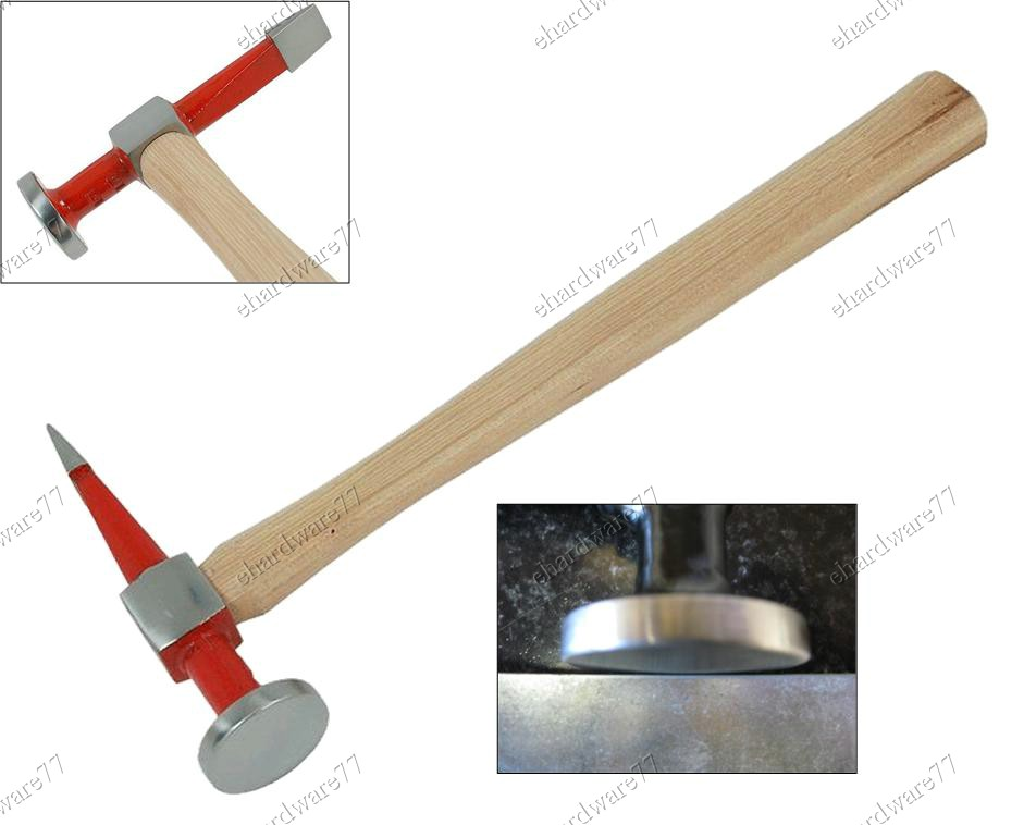 Auto Panel Repair Straight Pein Finishing Hammer (66FH203)