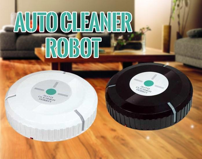 Auto Vacuum Cleaner Robot Microfiber Smart Robotic