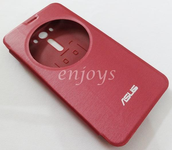 promo code 240b8 f3217 Auto Wake RED S View Cover Flip Case Asus Zenfone 2 Laser 5.5 ZE550KL