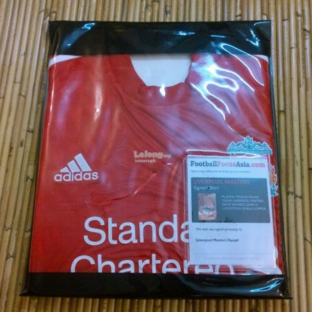 d3a78518a Autographed Liverpool Jersey (Full Te (end 7 8 2017 7 15 PM)