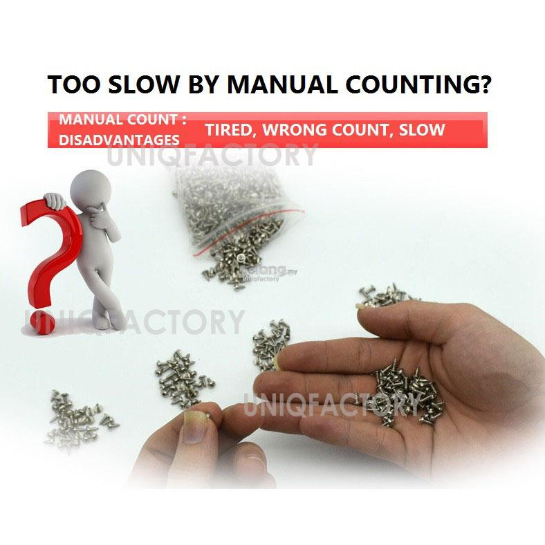 Automatic 1-5mm Counting Screw Counter Feeder Dispenser Auto Machine