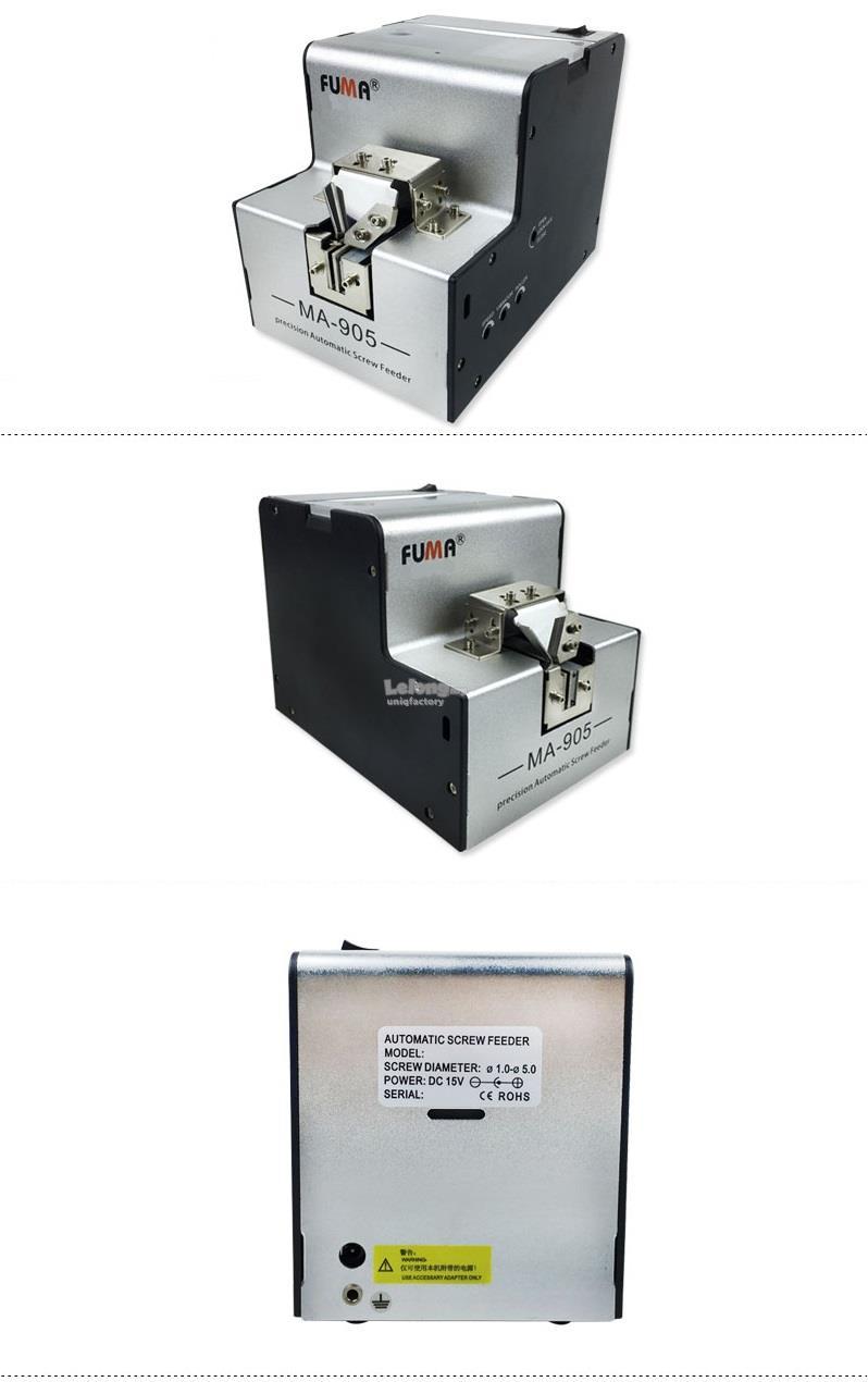 Automatic 1-5mm Screw Feeder Dispenser Arrangement Auto Machine