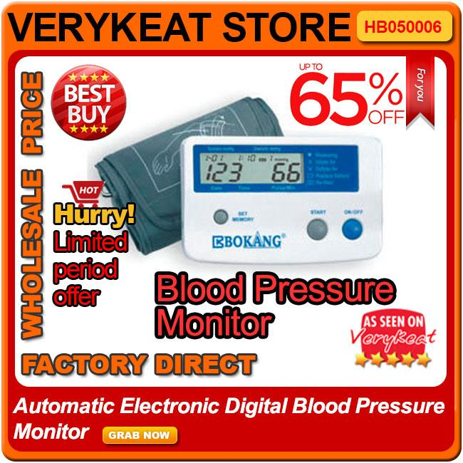 Automatic Electronic Digital Blood Pressure Monitor