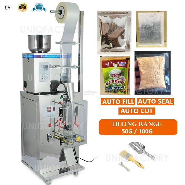 Automatic Powder Particle Filling Packaging Bag Auto Sealing Machine