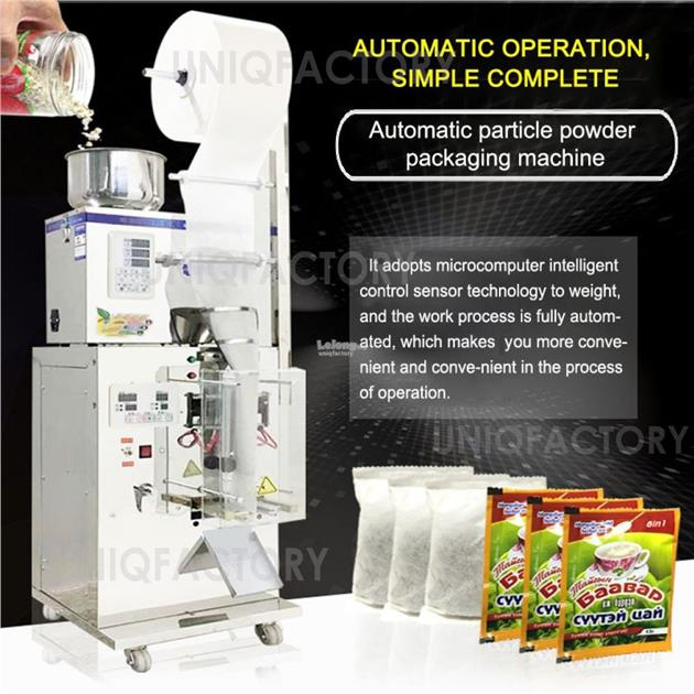 Automatic Powder Particle Weighing Packaging Bag Auto Sealing Machine