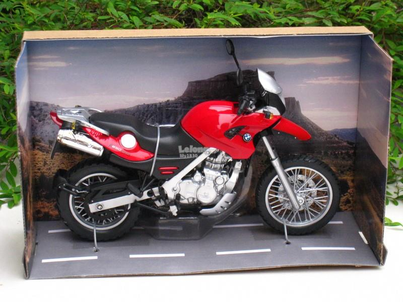 Automaxx 1/12 Diecast Motorcycle BMW F650 GS Sport Bike(Red)