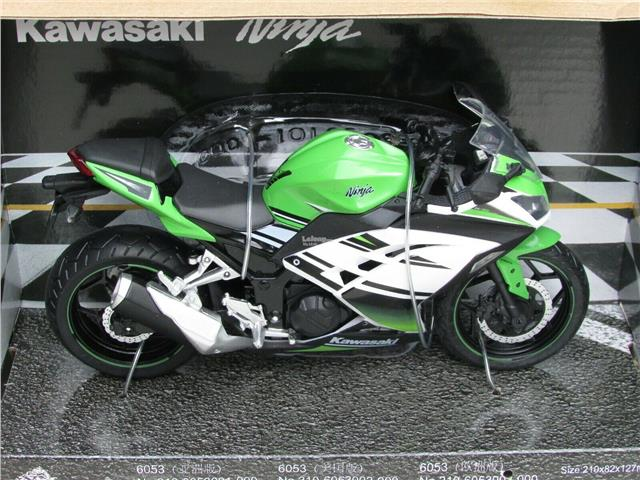 Automaxx 1 12 Motorcycle Kawasaki Ninja 250 F1 Green Super Bike 2015