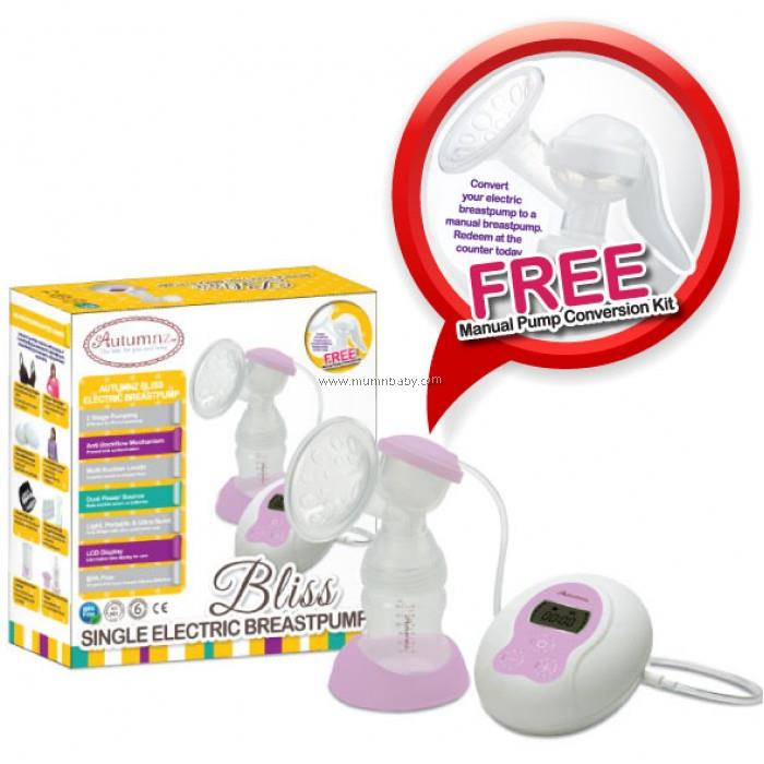 Autumnz BLISS Convertible Single Electric Breastpump