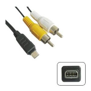 AV Cable for Digital Camera (Compatible to Olympus 12pin)