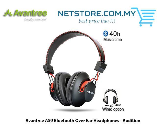 5a05ed8b375 AVANTREE Audition Wireless Bluetooth 4.0 NFC Headset Headphone. ‹ ›