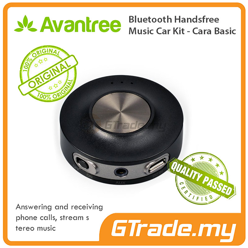 AVANTREE Bluetooth Hands Free Car Kit Adapter Receiver Cara Basic
