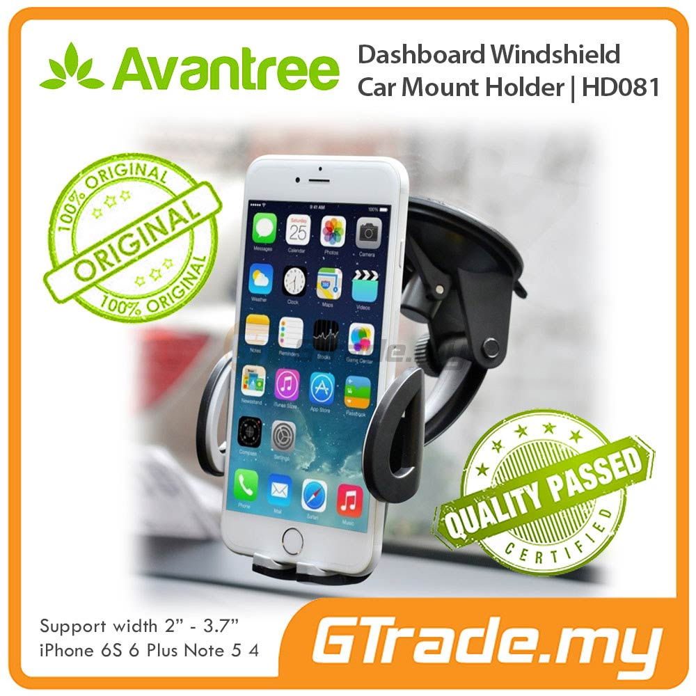 AVANTREE Car Phone Holder 2 in 1 Apple iPhone 6S 6 Plus SE 5S 5