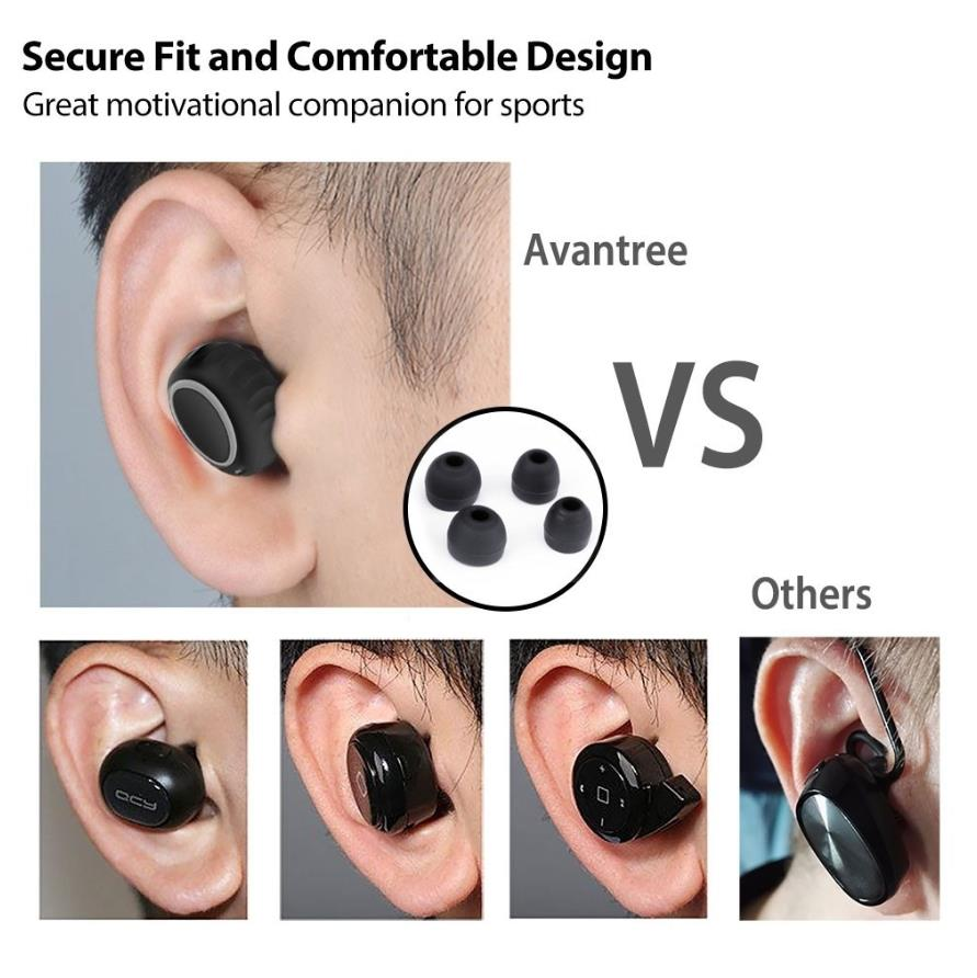 AVANTREE TWS105 TRUE WIRELESS EARBUDS BLUETOOTH 5.0
