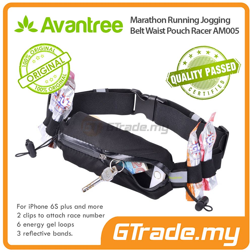 AVANTREE Waist Bag Running Pouch RC HTC10 One A9 M9+PLus M8 M7