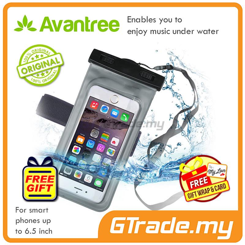 premium selection c4430 70c0b Avantree Waterproof Bag Case with Earphone Jack Walrus iPhone Smartpho