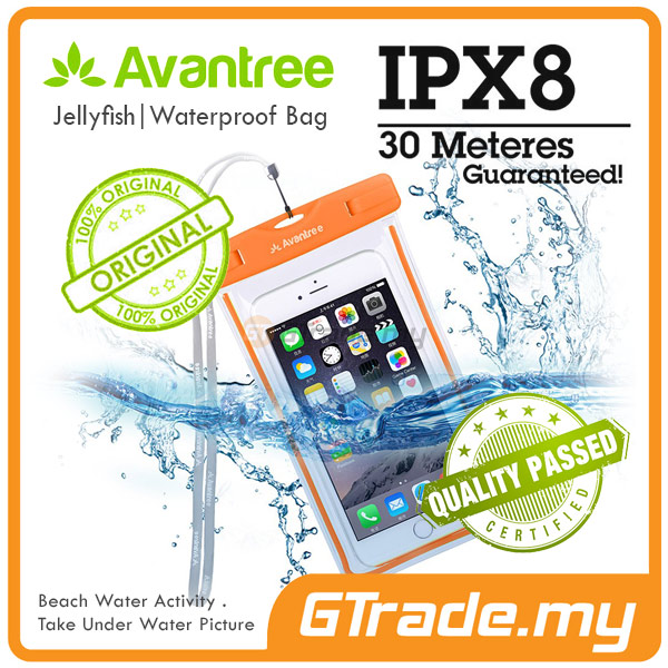 AVANTREE Waterproof Bag Case Universal OR Apple iPhone 6S 6 Plus