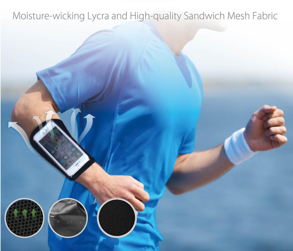 AVANTREE Wrista Wrist Forearm Sport Jogging Armband for Smartphone 2162c972e5eef
