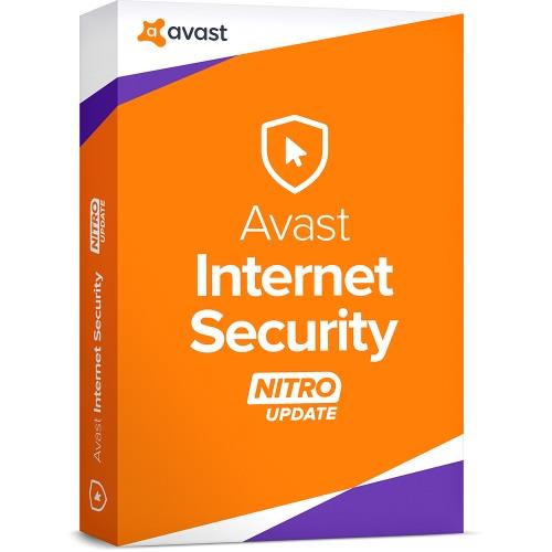 Avast Internet Security 2018 - 1 Year 5 PC Windows 7 8 10 Original