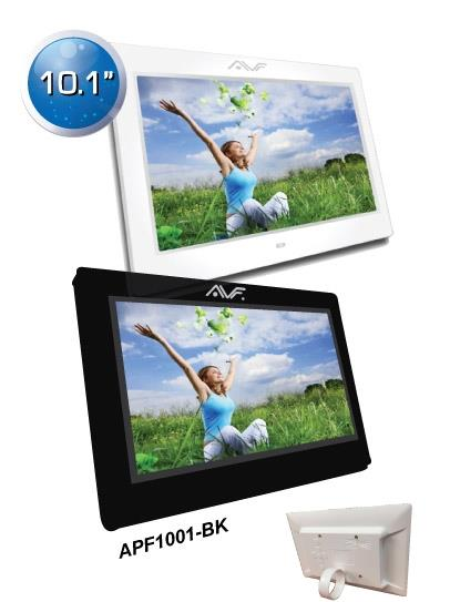 AVF 10.1' inch Digital Photo Frame -Black APF1001- Black