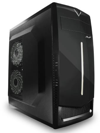AVF ATX Casing with PSU 500W (ACEX231-BW)