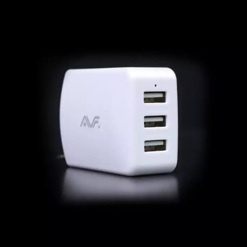 AVF AUTA12 3 USB PORT CHARGER