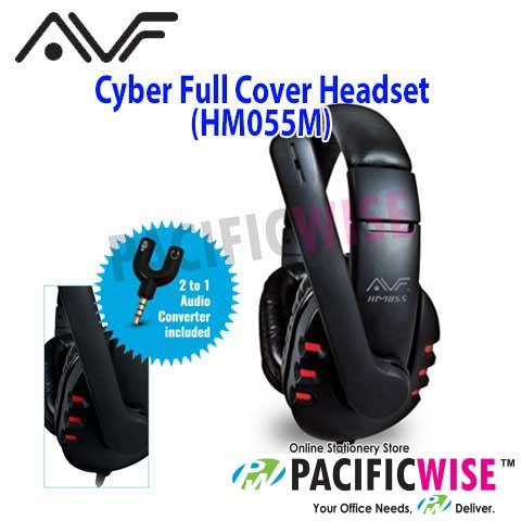 AVF Cyber Full Cover Headset (HM055M)