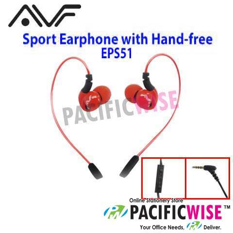 AVF EPS-51 Sport Earphone with Hand-free Function