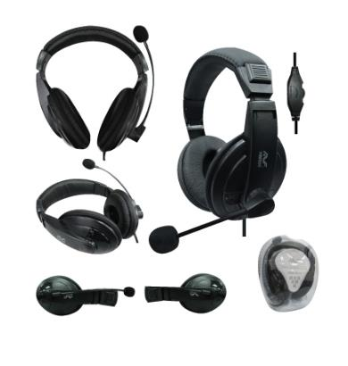 AVF Full Cover Digital Stereo Headset - Black HM550M