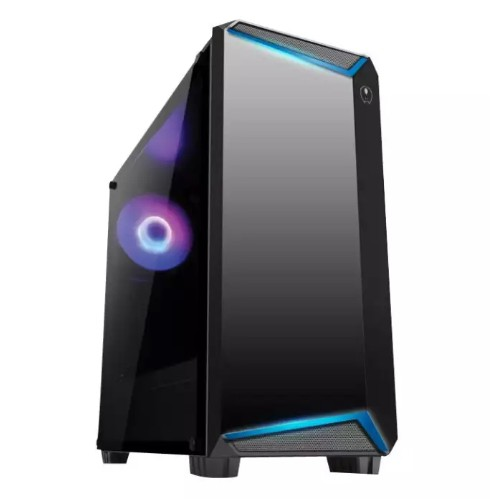 AVF GAMING FREAK FLUX K12G PREMIUM MIDDLE TOWER CASE WITH TEMPERED GLASS PC CP