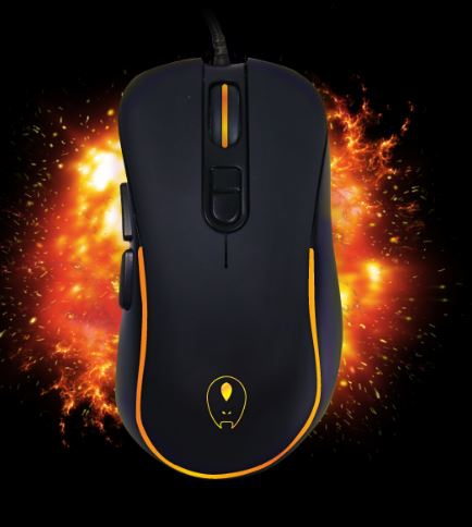 AVF GAMING FREAK RGB EFFECT 6400PDI USB WIRED MOUSE GFM-FX1 GFM-FX2 GFM-FX3 GF