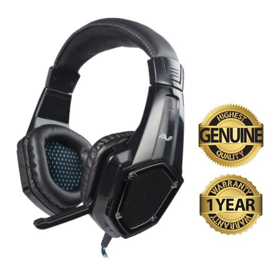AVF Gaming Gears Surf1 Gaming Headset HM-SURF1 - Black