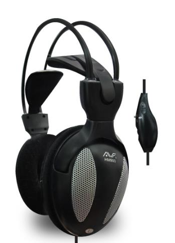 AVF HM900M Full Cover Mesh Design Digital Stereo Headphone HM900M