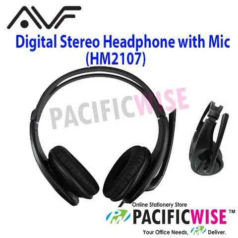 AVF Medium Cover Digital Stereo Headphone With Mic(HM2107)