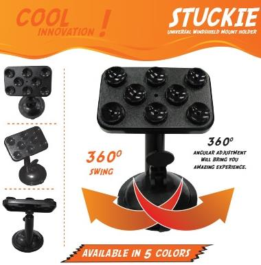 AVF Stuckie Universal Windshield Mount Holder AWMH-08