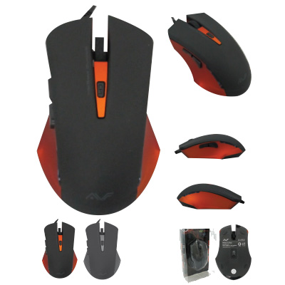 AVF WIRED USB OPTICAL GAMING MOUSE (AGM122)