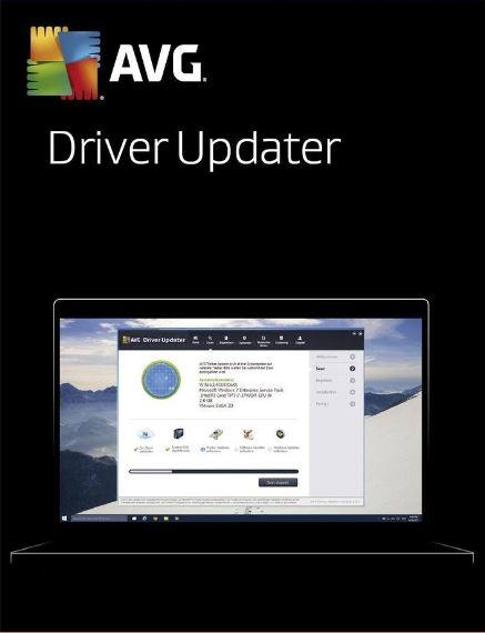AVG Driver Updater 2020 - 2 Years 3 PC Windows 7 8 10 Original