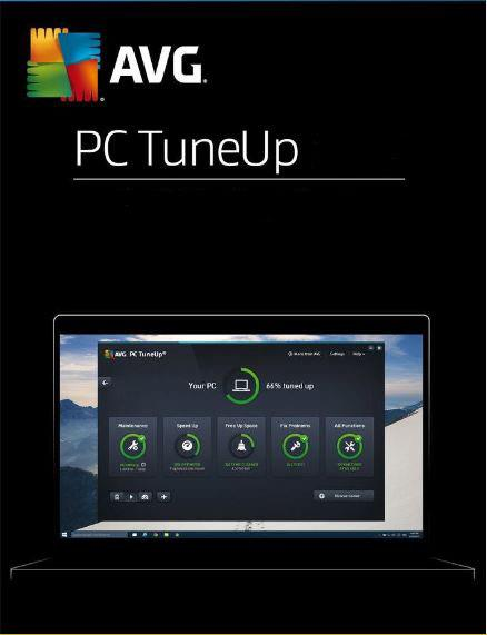 AVG Tune UP 2021 - 2 Years 3 PC Windows 7 8 10 Original