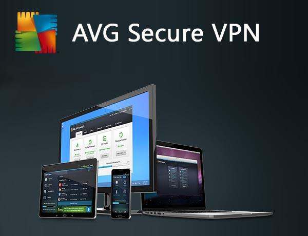 AVG VPN Secure 2019 - 2 Years 1 PC - Windows 7 8 10 Home Pro Software