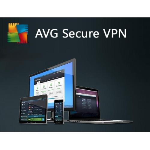 AVG VPN Secure 2021 - 2 Years 5 PC Device  - Windows 7 8 10 Home Pro