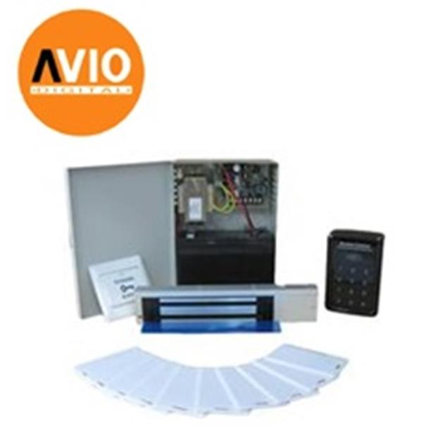 AVIO DA3000-PKG A Door access PSU , battery , keypad , EM lock , cards