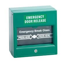 AVIO DBG005 Door Access Emergency break glass ( Green colour )