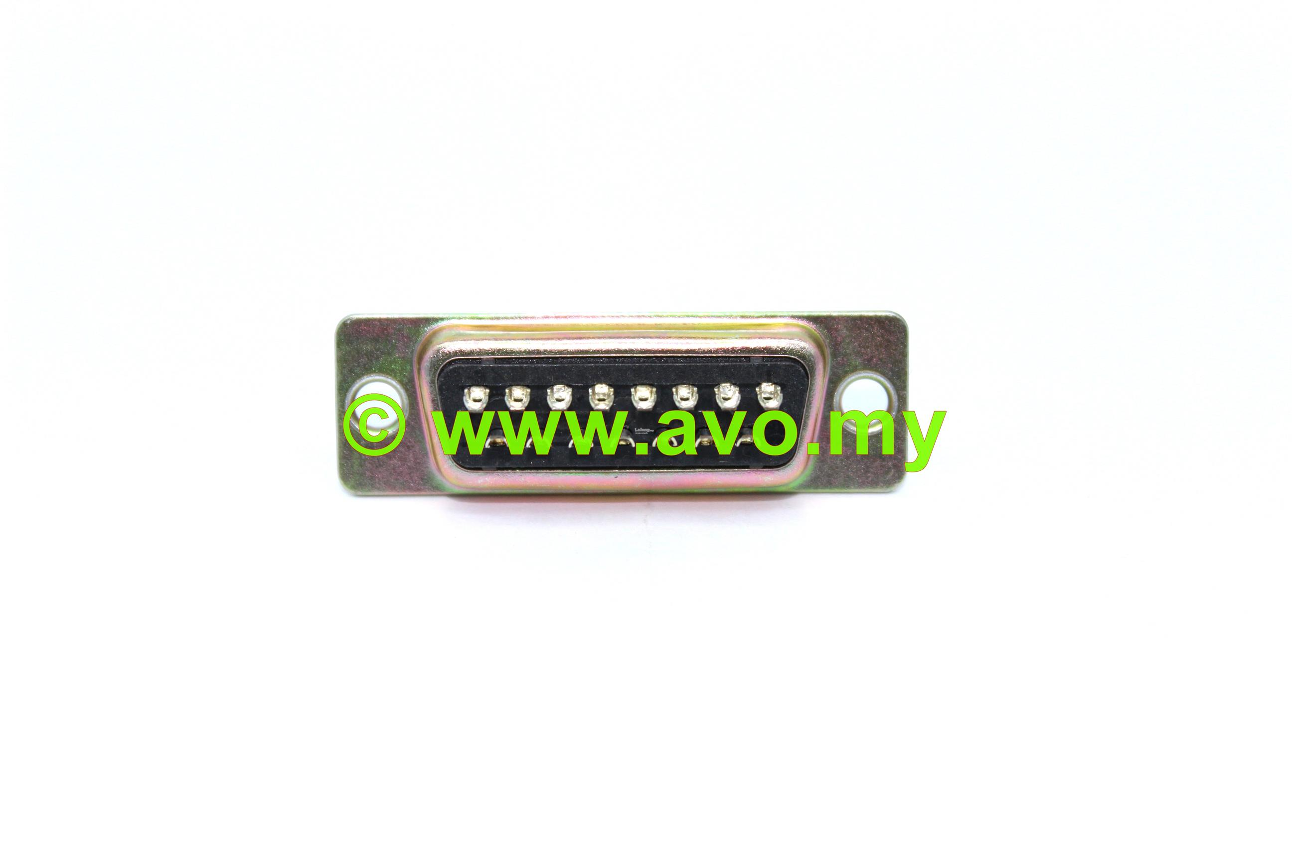 AVOMARINE D-Sub 15 Way Male - Solder | Per Pack Price (10pcs)